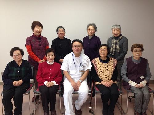 2015リウマチ患者会新年会