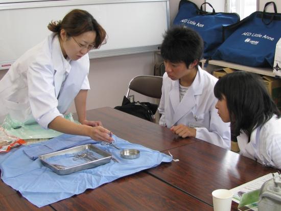 病院探検医師コース